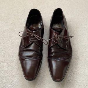 Men's Prada Brown dress Shoes